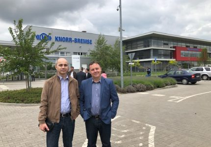 Rapidex at Knorr-Bremse gathering in Hungary
