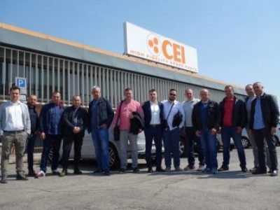 Rapidex's customers visiting C.E.I.