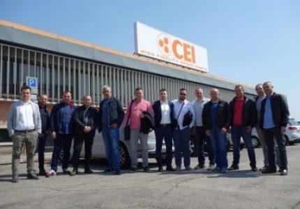 Rapidex's customers visiting C.E.I.