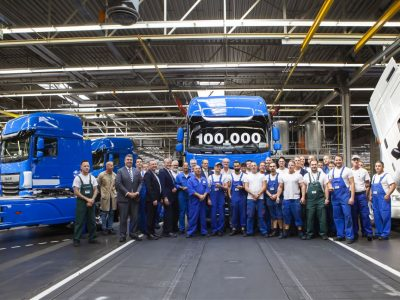 100,000th New DAF CF and XF