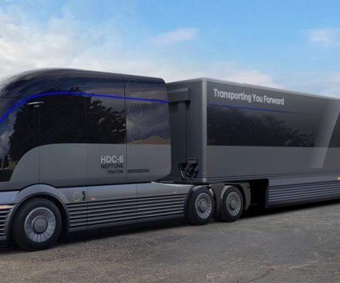 Hyundai Motor Company Reveals Commercial Truck Mobility Vision